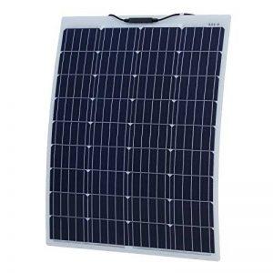 100W Aluminium renforcé Semi-Flexible Panneau Solaire avec Un revêtement Éthylène Tétrafluoroéthylène Durable cellules solaires (Allemand) de la marque Photonic Universe image 0 produit