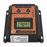 12V / 24V 30A / 50A / 70A Intelligent Panneau de Contrôle Solaire Contrôleur MPPT LCD Contrôleur de Charge Solaire Régulateur de Batterie Solaire Double Port USB(70A) de la marque Aramox image 3 produit