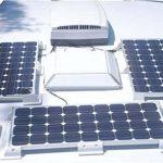 2x Panneau solaire Support de montage Blanc latérale camping-car 25cm Solara de la marque wccsolar image 2 produit