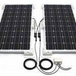 2x Panneau solaire Support de montage Blanc latérale camping-car 25cm Solara de la marque wccsolar image 3 produit