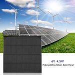 6V 4.5W Panneau Solaire Protable Monocristallin Silicon Kit Chargeur Module pour DIY Batterie Chargeur Alimentation de la marque Zerodis image 4 produit