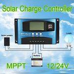 Acutty 40A-100A MPPT Régulateur de charge solaire 12 V/24 V 40A de la marque Acutty image 1 produit