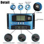 Acutty 40A-100A MPPT Régulateur de charge solaire 12 V/24 V 40A de la marque Acutty image 4 produit