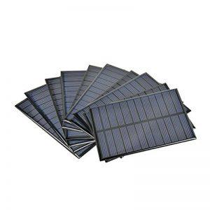AIYIMA 10pcs Panneau Solaire photovoltaïque Energie Solaire Cell Power Sun Power Cell Chargeur Portable 112x 84mm 6V 1.1W Solaire Jouets Projet DIY de la marque AIYIMA image 0 produit
