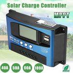 Alftek 40A-100a MPPT Panneau Solaire Régulateur de contrôleur de Charge 12V/24V Mise au Point Automatique Appareil de Suivi de la marque Alftek image 3 produit