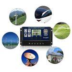 BougeRV 30A Régulateur de Charge Solaire 12V/24V avec Ecran LCD Contrôleur de Chargeur Solaire Auto Régulateur Solaire Protection pour Batterie Panneau Lampe de la marque BougeRV image 4 produit