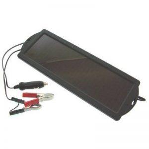 Chargeur d'entretien à l'énergie solaire pour maintien de la charge d'une batterie 12V - idéal pour les voitures, camping-cars, bateaux – 1,5 watts de la marque Visua image 0 produit