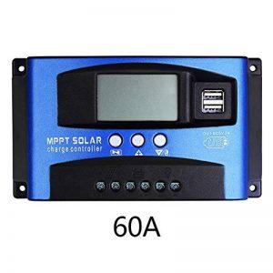 Contrôleur de charge solaire, 12V/24V mise au point automatique suivi Panneau solaire contrôleur avec écran LCD de la marque Soddyenergy image 0 produit