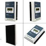 Contrôleur de charge solaire Qaurora MPPT Tracer A Series 10A/20A/30A/40A avec 12V/24V DC Identification automatique de la tension du système(20A+MT50) de la marque Qaurora image 1 produit