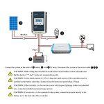 Contrôleur de charge solaire Qaurora MPPT Tracer A Series 10A/20A/30A/40A avec 12V/24V DC Identification automatique de la tension du système(20A+MT50) de la marque Qaurora image 2 produit