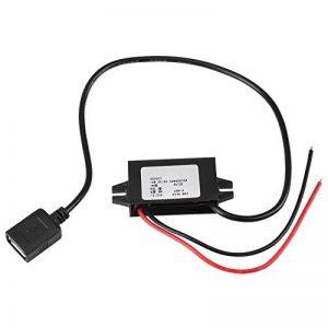 Convertisseur DC-DC - Adaptateur abaisseur DC/CC 1pc 12V / 24V vers USB 5V Convertisseur 3A Câble de régulateur de la marque MLMLH image 0 produit