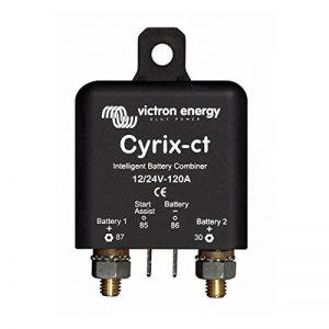 Coupleur de batteries intelligent | Cyrix-ct 12/24 V 120 A | Victron Energy | Contrôleur de batteries | surveillance de batteries de la marque VICTRON ENERGY image 0 produit