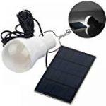 Docooler 4W Panneau Solaire Propulsé 3 Lampe LED USB 5V Chargeur de Téléphone Système Home Kit Garden Camping Pêche de la marque Docooler image 4 produit