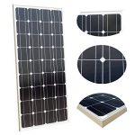 ECO-WORTHY 100 Watt 12 Volt Monocrystalline Solar Panel System: 1pc 100W Mono Solar Panel+ 15A PWM Solar Charge Controller+ Z Mounting Brackets de la marque ECO-WORTHY image 2 produit