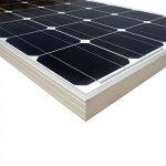 ECO-WORTHY 100 Watt 12 Volt Monocrystalline Solar Panel System: 1pc 100W Mono Solar Panel+ 15A PWM Solar Charge Controller+ Z Mounting Brackets de la marque ECO-WORTHY image 3 produit