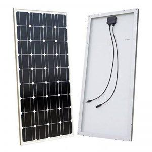 ECO-WORTHY 100w 12v module solaire panneau solaire photovoltaïque - monocristallin - cellule solaire idéal pour recharger les piles 12 volt de la marque ECO-WORTHY image 0 produit
