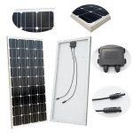 ECO-WORTHY 100w 12v module solaire panneau solaire photovoltaïque - monocristallin - cellule solaire idéal pour recharger les piles 12 volt de la marque ECO-WORTHY image 3 produit