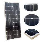 ECO-WORTHY 100w 12v module solaire panneau solaire photovoltaïque - monocristallin - cellule solaire idéal pour recharger les piles 12 volt de la marque ECO-WORTHY image 1 produit