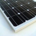 ECO-WORTHY 100w 12v module solaire panneau solaire photovoltaïque - monocristallin - cellule solaire idéal pour recharger les piles 12 volt de la marque ECO-WORTHY image 4 produit