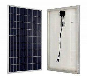 ECO-WORTHY 100w 12v module solaire polycristallin panneau solaire photovoltaïque cellule solaire idéal pour recharger les piles 12 volt de la marque ECO-WORTHY image 0 produit