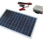 ECO-WORTHY 10W PV En Comme Système Kit Panneau Solaire Avec Contrôleur de Charge 30A Pinces de Batterie de la marque ECO-WORTHY image 1 produit