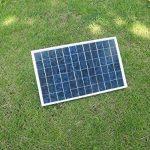 ECO-WORTHY 10W PV En Comme Système Kit Panneau Solaire Avec Contrôleur de Charge 30A Pinces de Batterie de la marque ECO-WORTHY image 3 produit