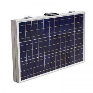 ECO-WORTHY 120 Watt portable solaire pliant 12V Chargeur de batterie Panneau Kits avec régulateur de charge 15A de la marque ECO-WORTHY image 0 produit