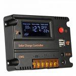 ECO-WORTHY 200 watts (2pcs 100 watts) 12V panneau solaire + contrôleur de charge de la batterie 20A + 1000W hors réseau onduleur de la marque ECO-WORTHY image 4 produit