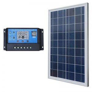 Eco-Worthy 25 W Panneau solaire module solaire Kits de système avec 20 A PWM contrôleur Bateau de voiture de la marque ECO-WORTHY image 0 produit