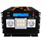 EDECOA convertisseur 12v 220v convertisseur pur sinus 3500w onde sinusoïdale pure power inverter de la marque EDECOA image 3 produit