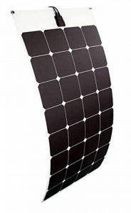 enjoysolar® Flexible Module solaire panneau solaire 100W 12V Idéal pour caravane, bateau, yacht de la marque SolarV® image 0 produit