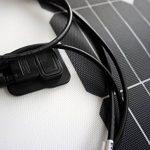 enjoysolar® Flexible Module solaire panneau solaire 100W 12V Idéal pour caravane, bateau, yacht de la marque SolarV® image 2 produit