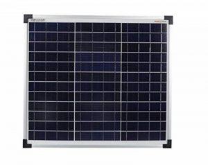 enjoysolar® Module solaire polycristallin 30W 12V Panneau solaire Poly 30W idéal pour le jardin camping-car Caravan de la marque SolarV image 0 produit
