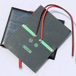 Ensemble de 4 pièces NUZAMAS 1.5V 0.65W 60X80mm Micro Mini panneau solaire cellules pour l'énergie de l'énergie solaire, Accueil bricolage, projets scientifiques - Jouets - Chargeur de batterie de la marque NUZAMAS image 4 produit