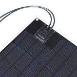 Flexible Panneau solaire 30W Éthylène Tétrafluoroéthylène Silicium monocristallin Cell PCB module de connecteur MC4pour chargeur de batterie 12V LED Light Car RV Yacht d'alimentation de la marque XINPUGUANG image 4 produit