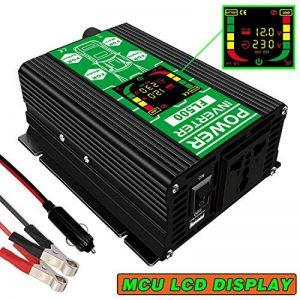 FULAI Convertisseur de tension 12V 220V 500W Transformateur de tension DC 12V vers 220V 500W Onduleur avec Port USB & Écran LCD de la marque FULAI POWER image 0 produit