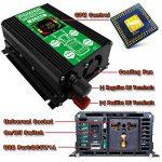 FULAI Convertisseur de tension 12V 220V 500W Transformateur de tension DC 12V vers 220V 500W Onduleur avec Port USB & Écran LCD de la marque FULAI POWER image 3 produit