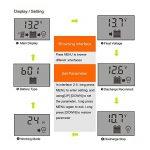 GIARIDE 20A 24V 12V LCD USB Contrôleur Charge Solaire PWM Régulateur de Batterie de Panneau Solaire Intelligent Auto Protection Contre Surcharge Compensation de Température de la marque GIARIDE image 2 produit