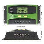 GIARIDE 20A 24V 12V LCD USB Contrôleur Charge Solaire PWM Régulateur de Batterie de Panneau Solaire Intelligent Auto Protection Contre Surcharge Compensation de Température de la marque GIARIDE image 1 produit