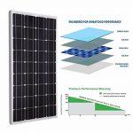 Giosolar kit Panneau Solaire monocristallin de 300W avec MPPT 30A LCD Solaire contrôleur de Charge pour RV Bateau Système Hors-Réseau de la marque Giosolar image 4 produit