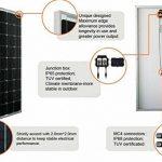 Gowe 300W Panneau solaire monocristallin 18V 17% de charge efficacité de la marque GOWE image 2 produit