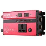 Gwendoll Onduleur Professionnel 3000W d'énergie Solaire DC 24V à 220V à LED Convertisseur d'onde sinusoïdale de Voiture pour appareils ménagers de la marque Gwendoll image 3 produit