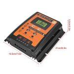 KIMISS 12V / 24V 30A50A MPPT Régulateur de Charge Solaire Panneau Solaire Régulateur de Batterie Double USB LCD Affichage(50A) de la marque KIMISS image 4 produit