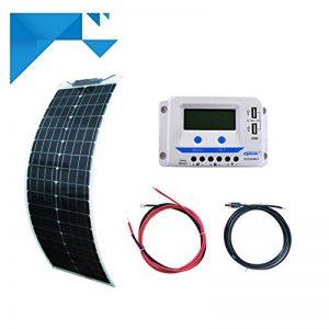 Kit solaire 100W 12V EPEVER souple-pour bateau - camping car de la marque sunpower image 0 produit