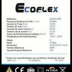 Kit Solaire 100W Souple 12V PWM EPEVER Autonome avec Batterie 600W de la marque ULTRACELL image 3 produit