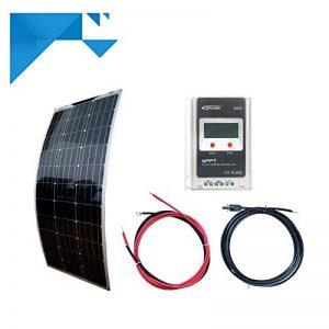 Kit solaire MPPT 100W 12V souple autonome sans batterie de la marque eco image 0 produit