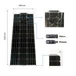 Kit solaire MPPT 100W 12V souple autonome sans batterie de la marque eco image 2 produit