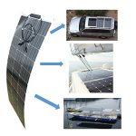 Kit solaire MPPT 100W 12V souple autonome sans batterie de la marque eco image 4 produit