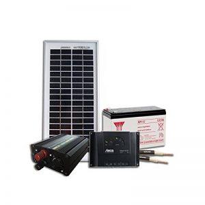Kit solaire pour site isolé 12V 5W 20Wh/jour de la marque Sellande image 0 produit