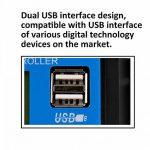 KKmoon 10A/20A/30A LCD USB Contrôleur Chargeur Solaire Intelligent 12V/24V avec l'Affichage à Cristaux Liquides HD et Double Port d'USB pour l'Usage à la Maison ou Industriel de la marque KKmoon image 3 produit
